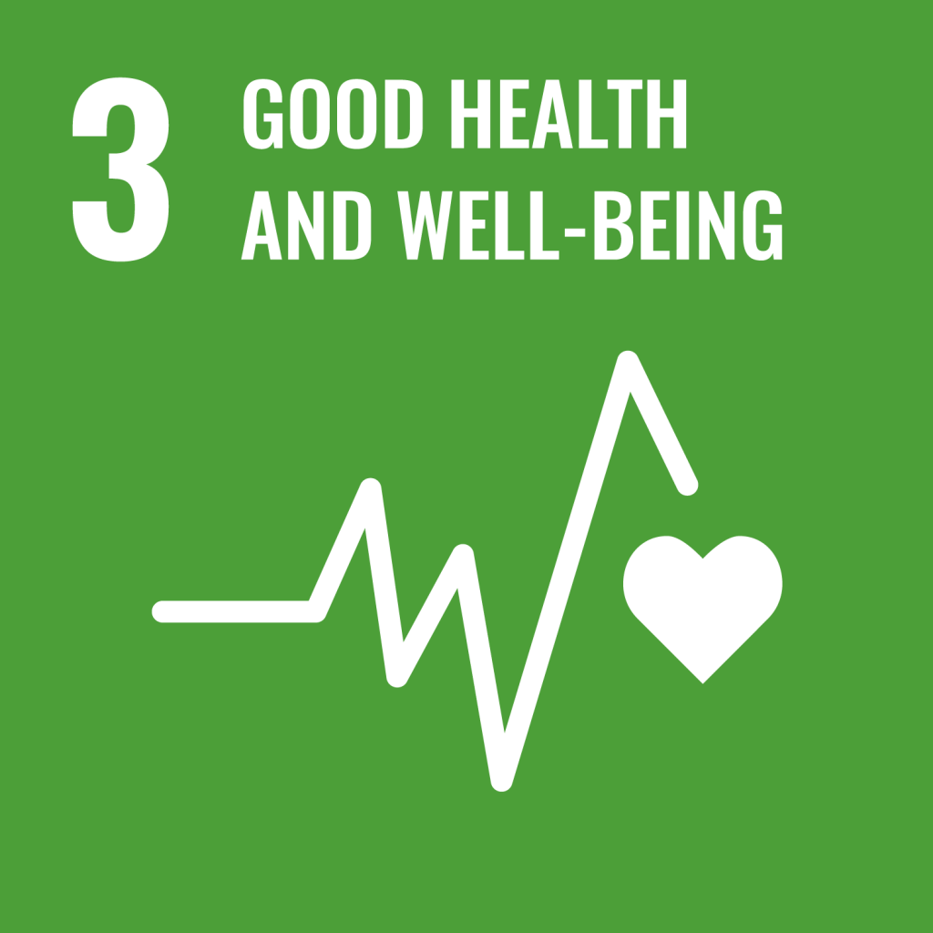 #3 Good health and well-being