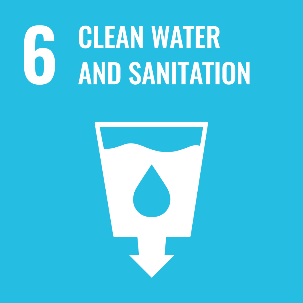 #6 Clean water and sanitation